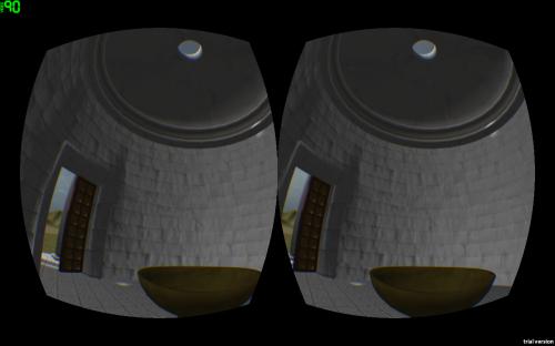 Interior del templo de las Vestales en el Oculus Rift